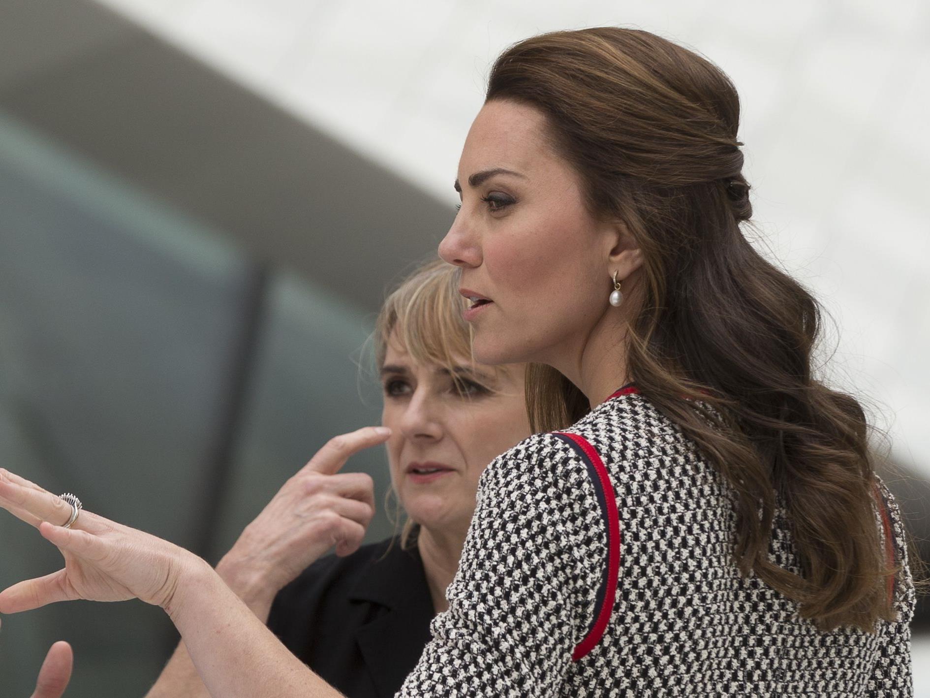 Heftige Kritik an Kate.