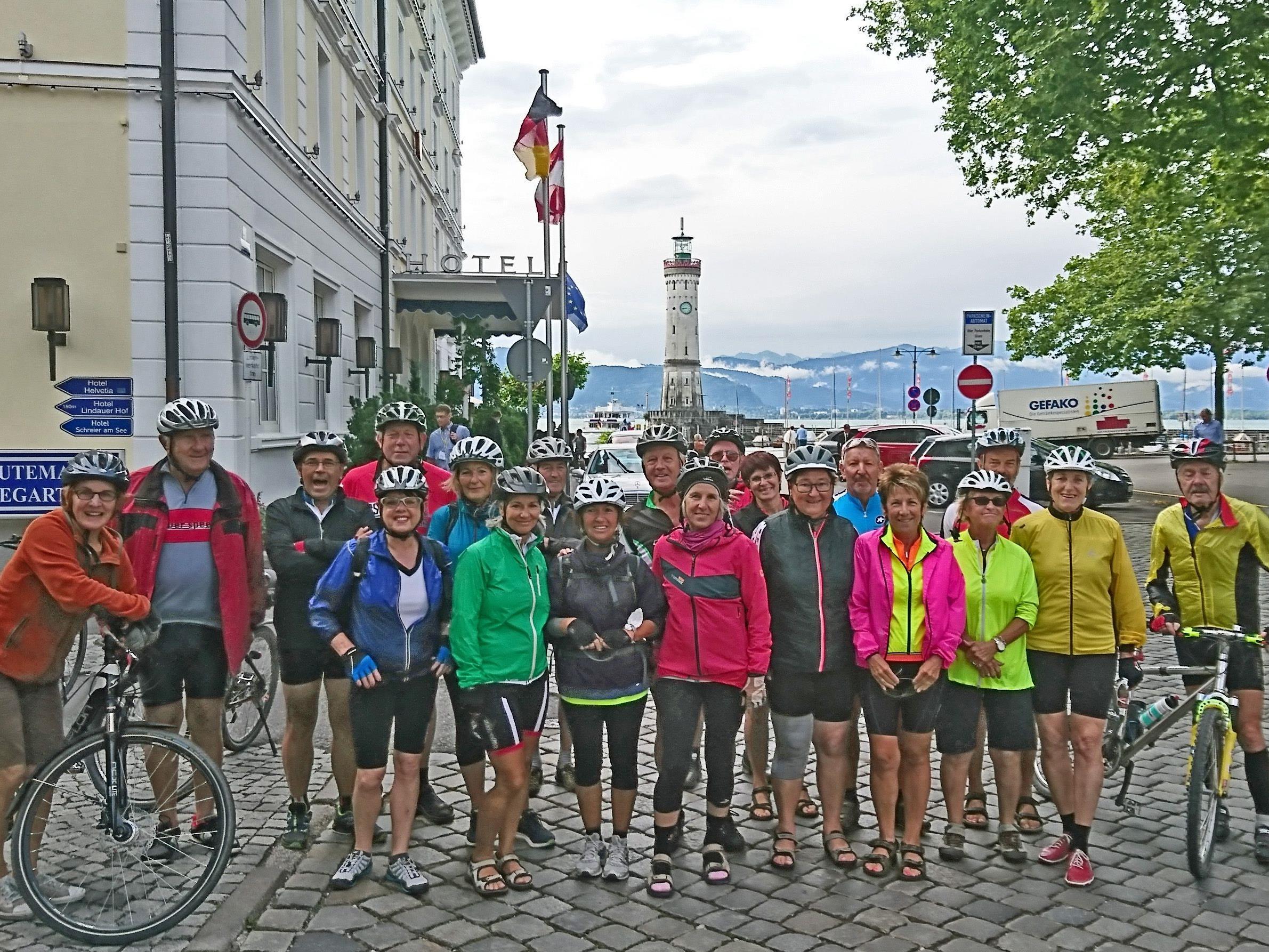 Radteam per pedales: Start in Lindau nach Biberach zu 4 herrlichen Radtagen