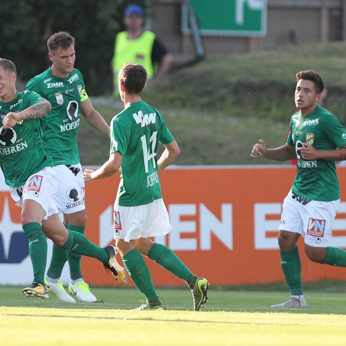 Die Austria durfte zum Saisonstart über einen Erfolg gegen den FAC jubeln.