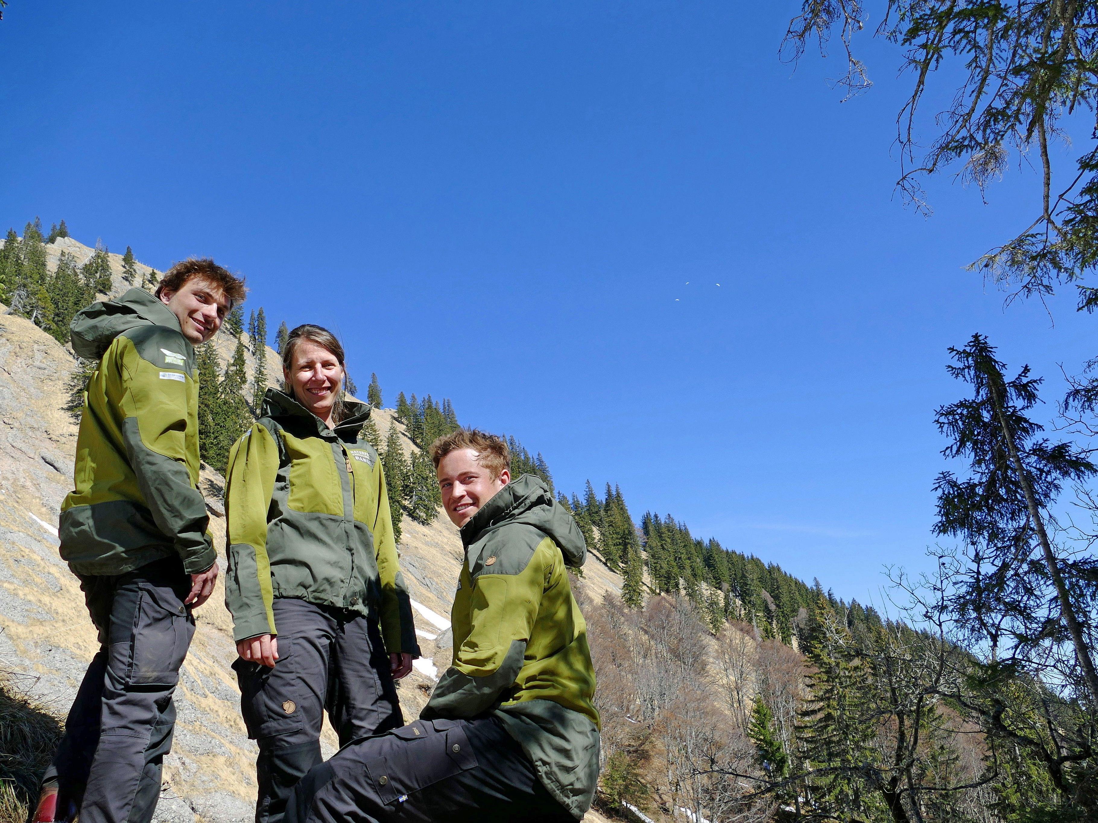 Seit heuer kann man den Naturpark mit den neuen Rangern erkunden.