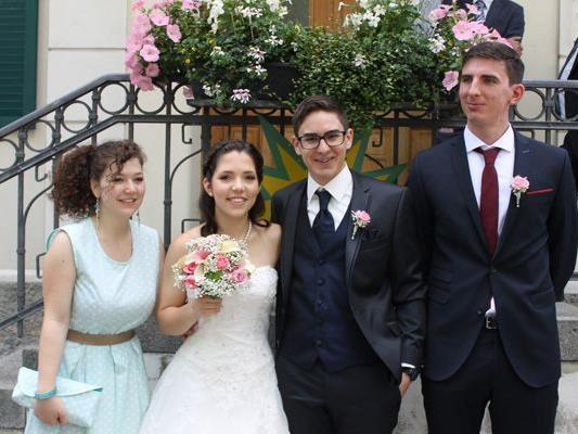 Hochzeit von Alyssa und Andrè.