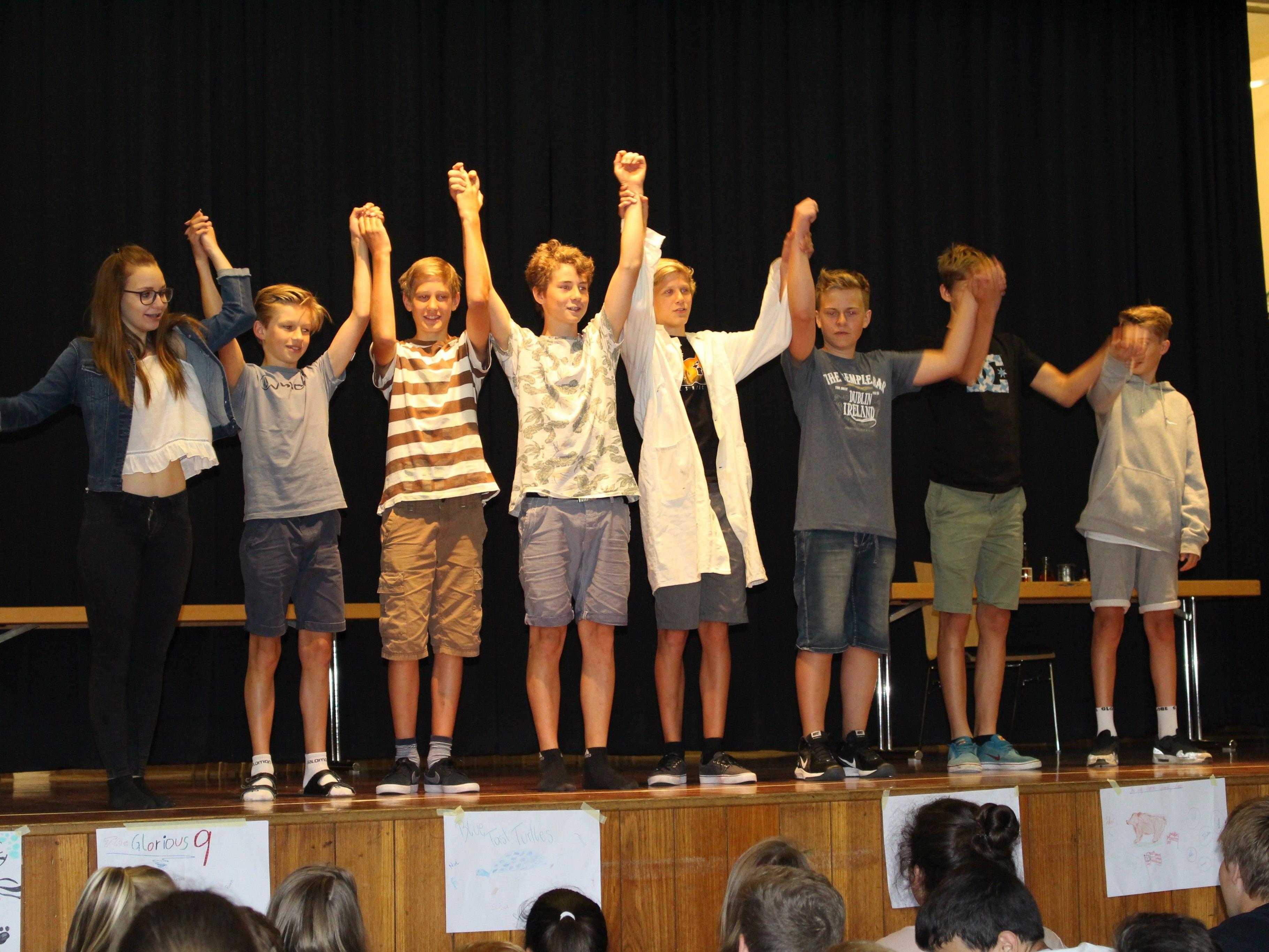 Viel Applaus für die Aufführungen der Schüler im Englisch-Projekt.