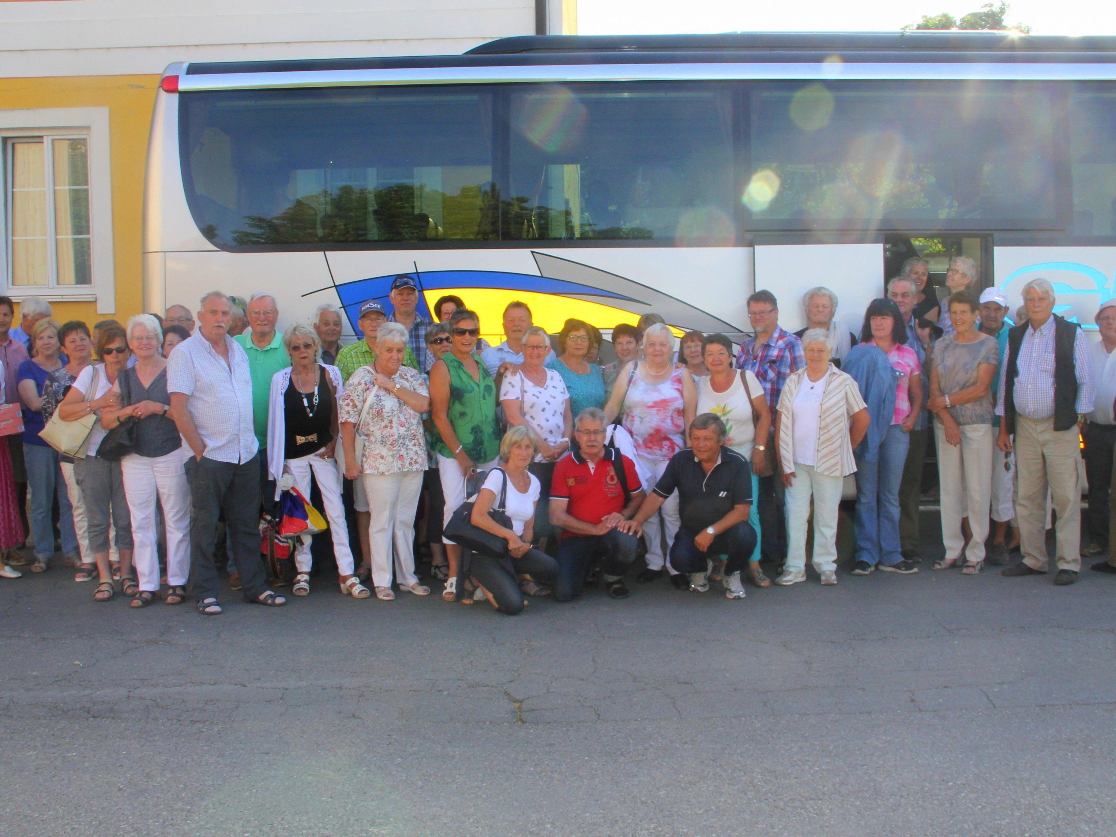 47 Seniorenringler erlebten eine unvergessliche Ausflugsfahrt nach Niederösterreich