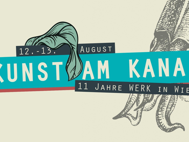 """""""Das Werk"""" lädt zum """"Kunst am Kanal""""-Festival."""