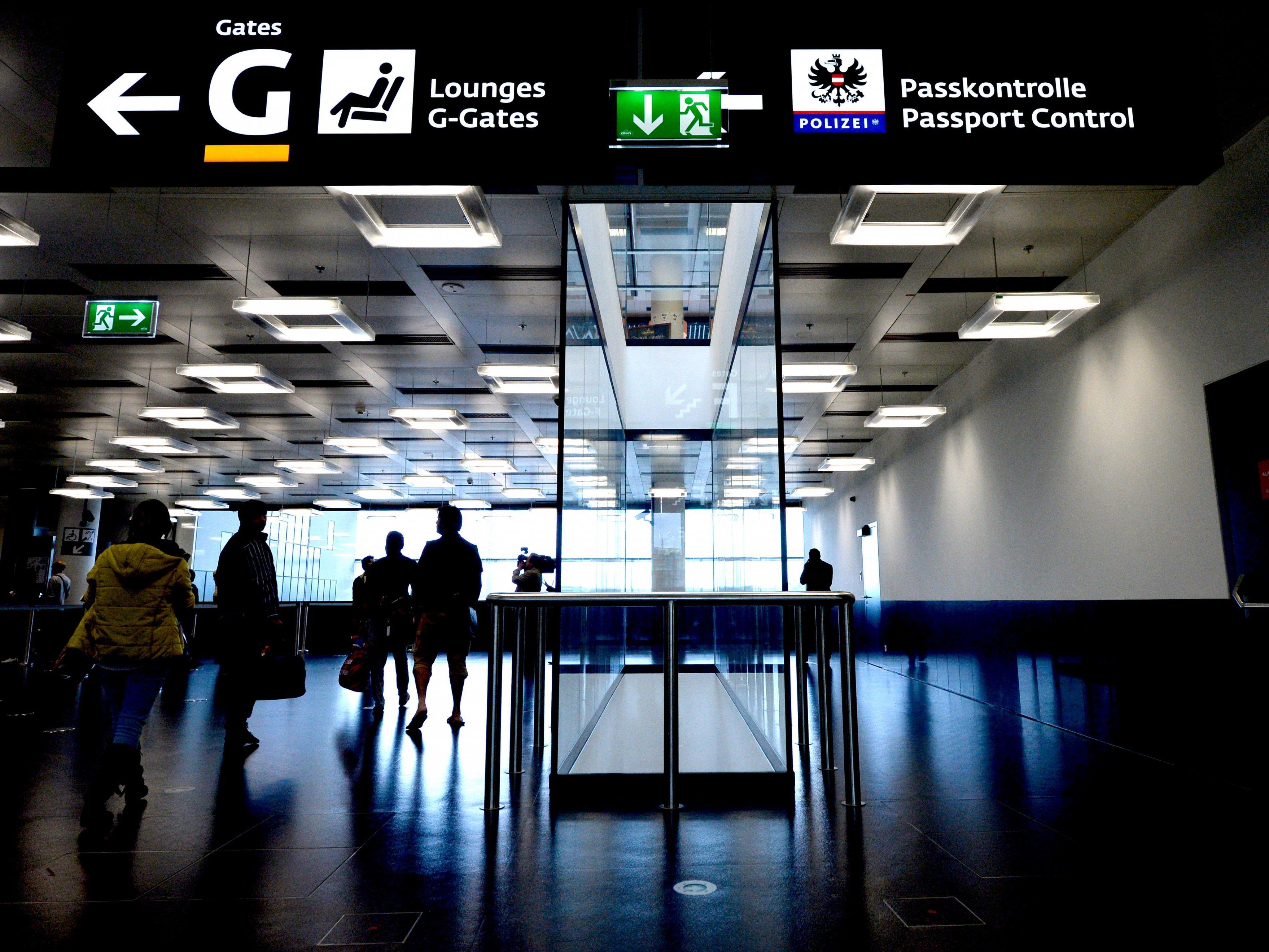 Die Grenzkontrollen am Flughafen Wien werden erweitert