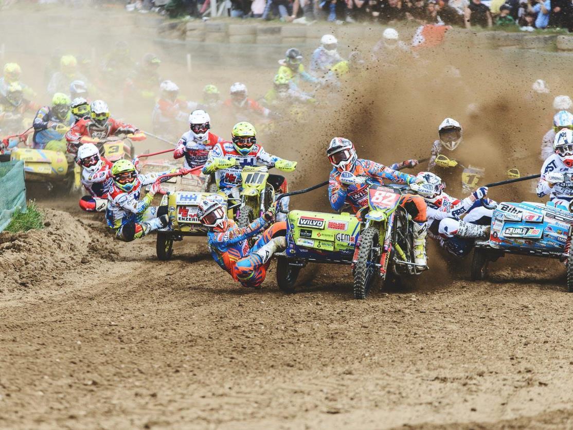 Viel Action erwartet die Besucher der Seitenwagen-Weltmeisterschaft in Möggers.