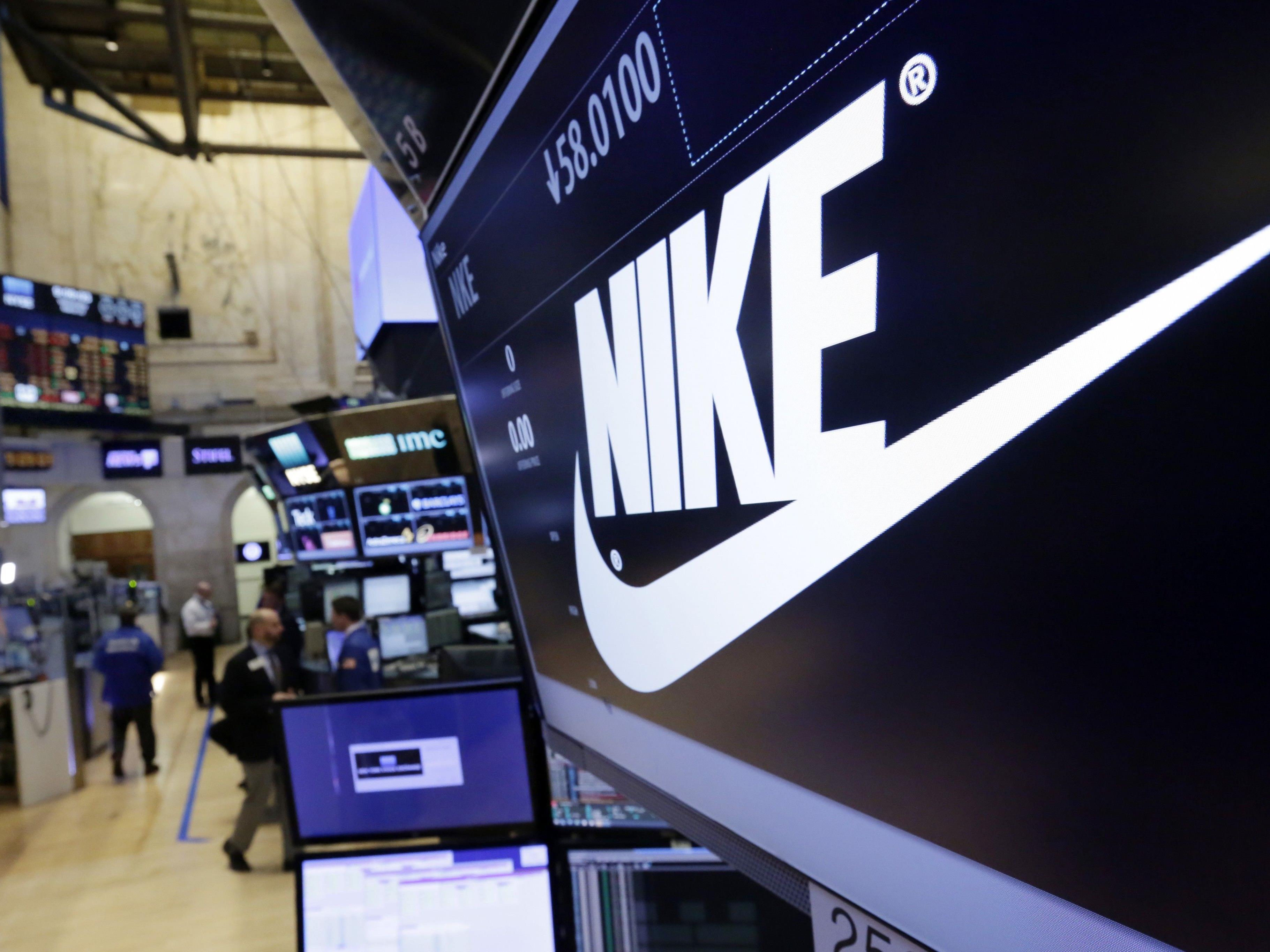 Nike im Höhenflug