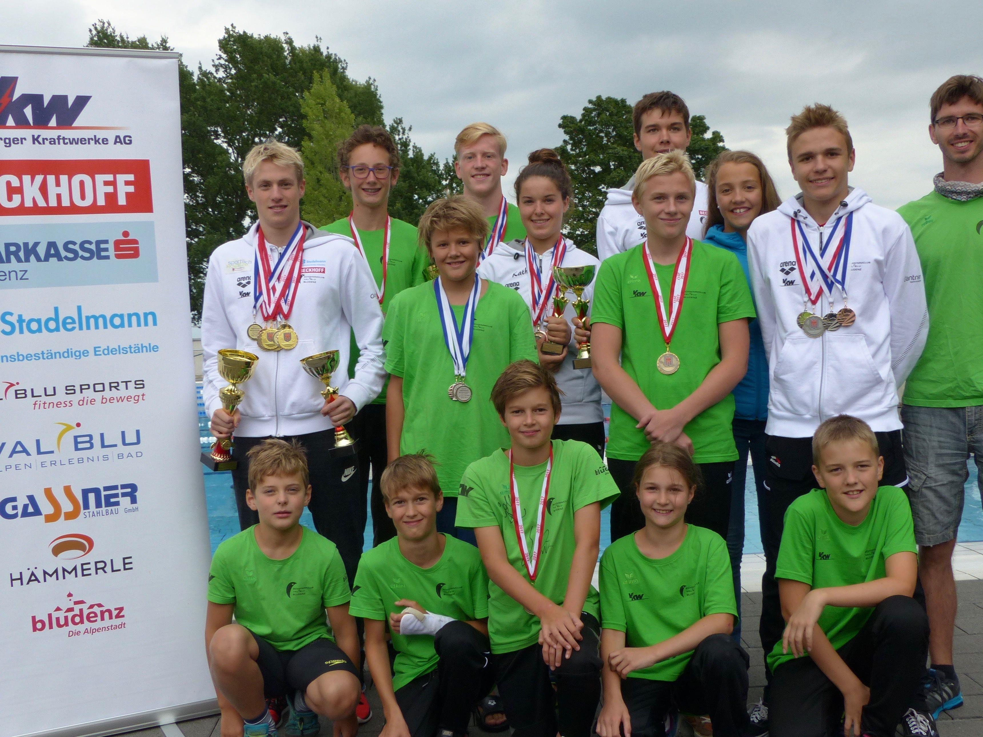 Städtle-Schwimmer überzeugten bei den Landesmeisterschaften