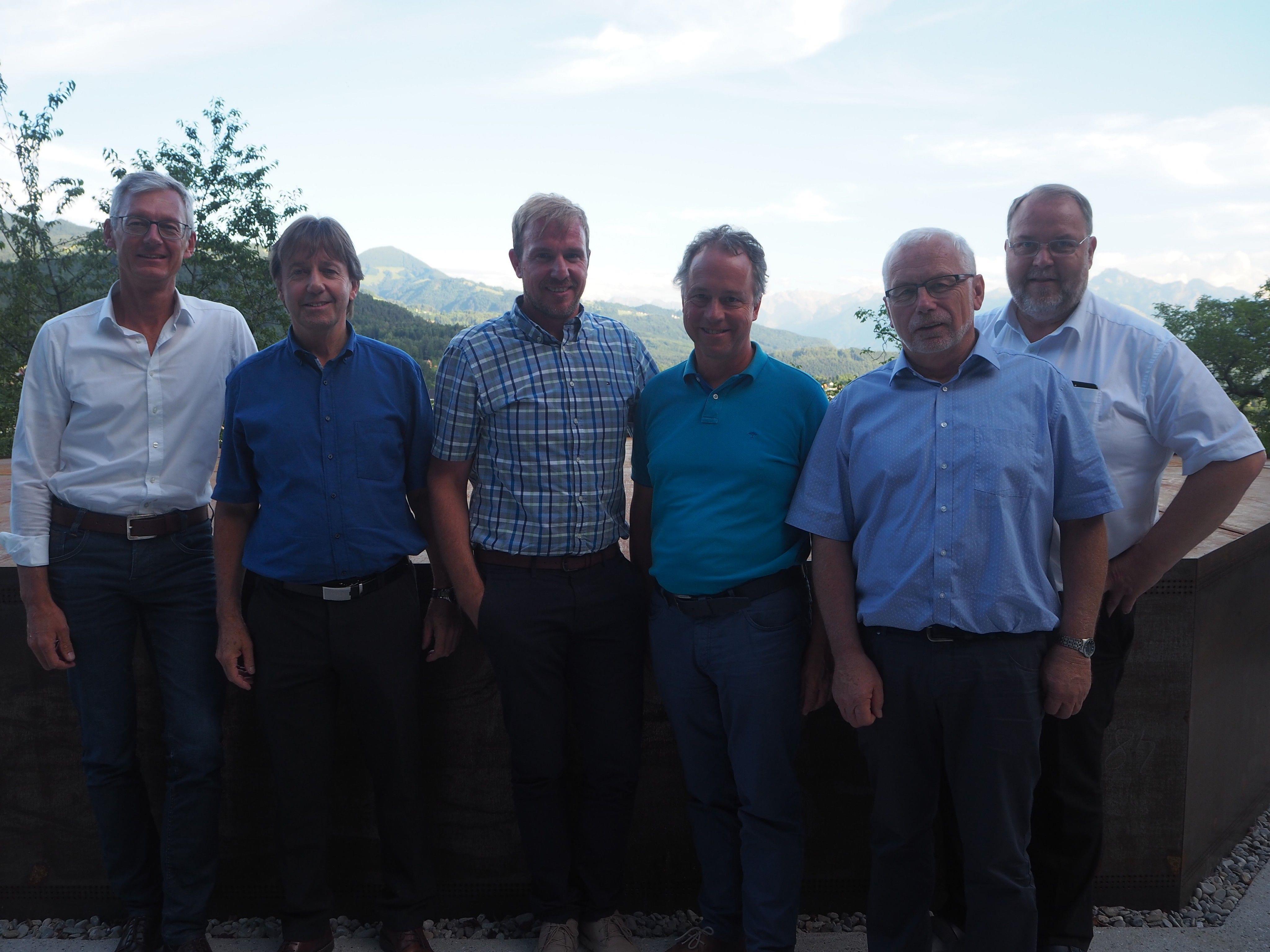 Erich Fritsch, Fritz Maierhofer, Daniel Gross, Roman Kopf, Dietmar Summer, Werner Müller.