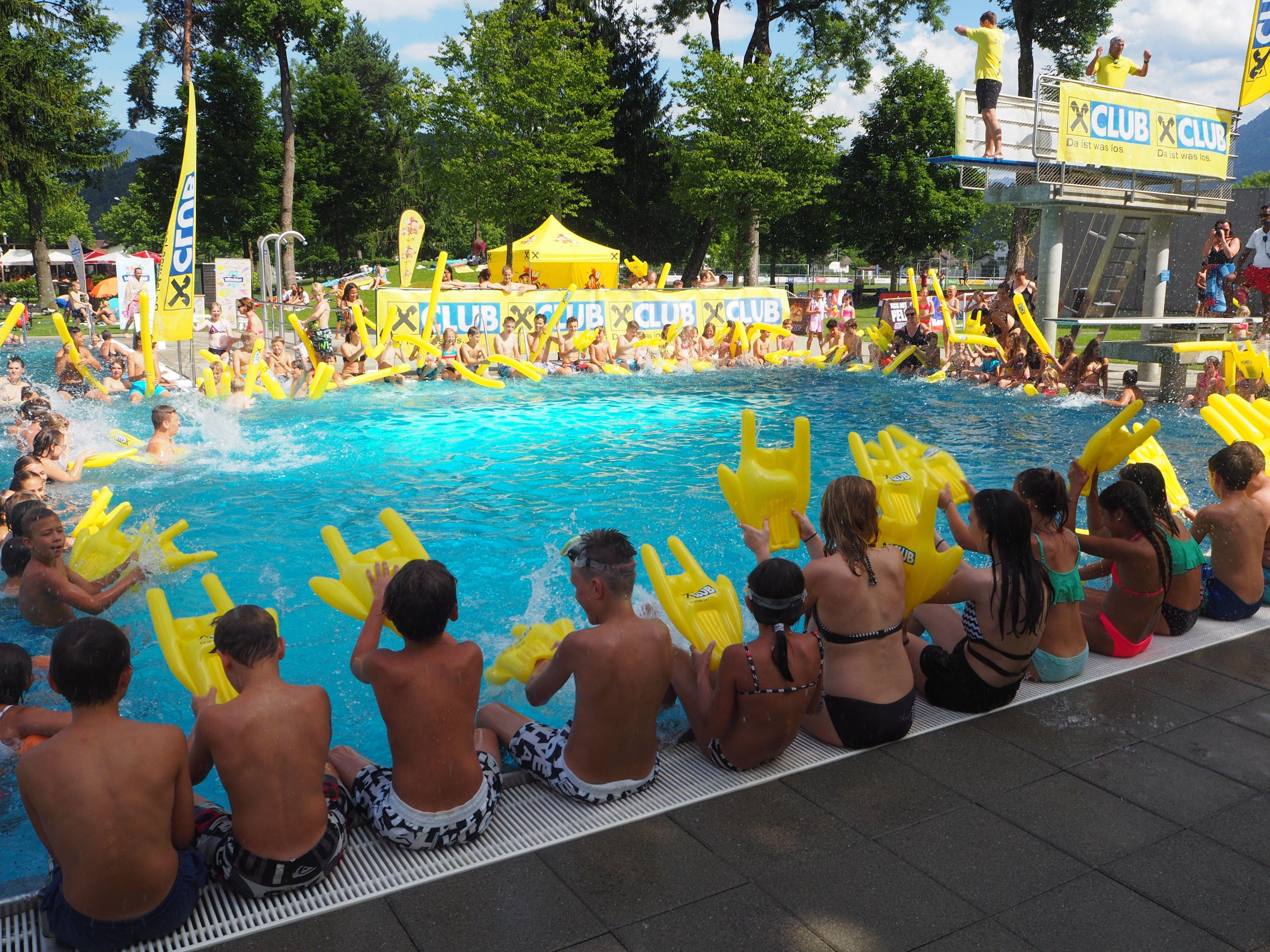 Pool and Games im Waldbad