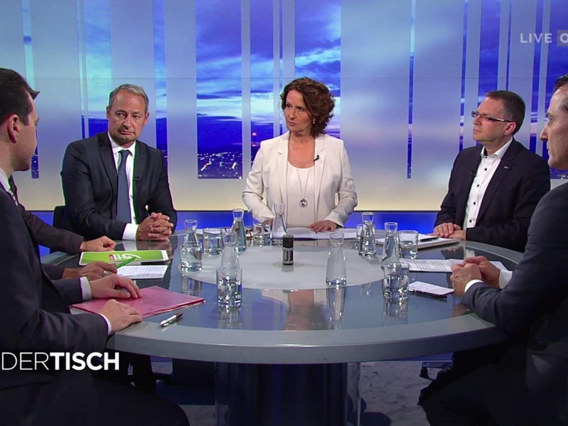"""Der """"Runde Tisch"""" am Donnerstag Abend in ORF 2."""