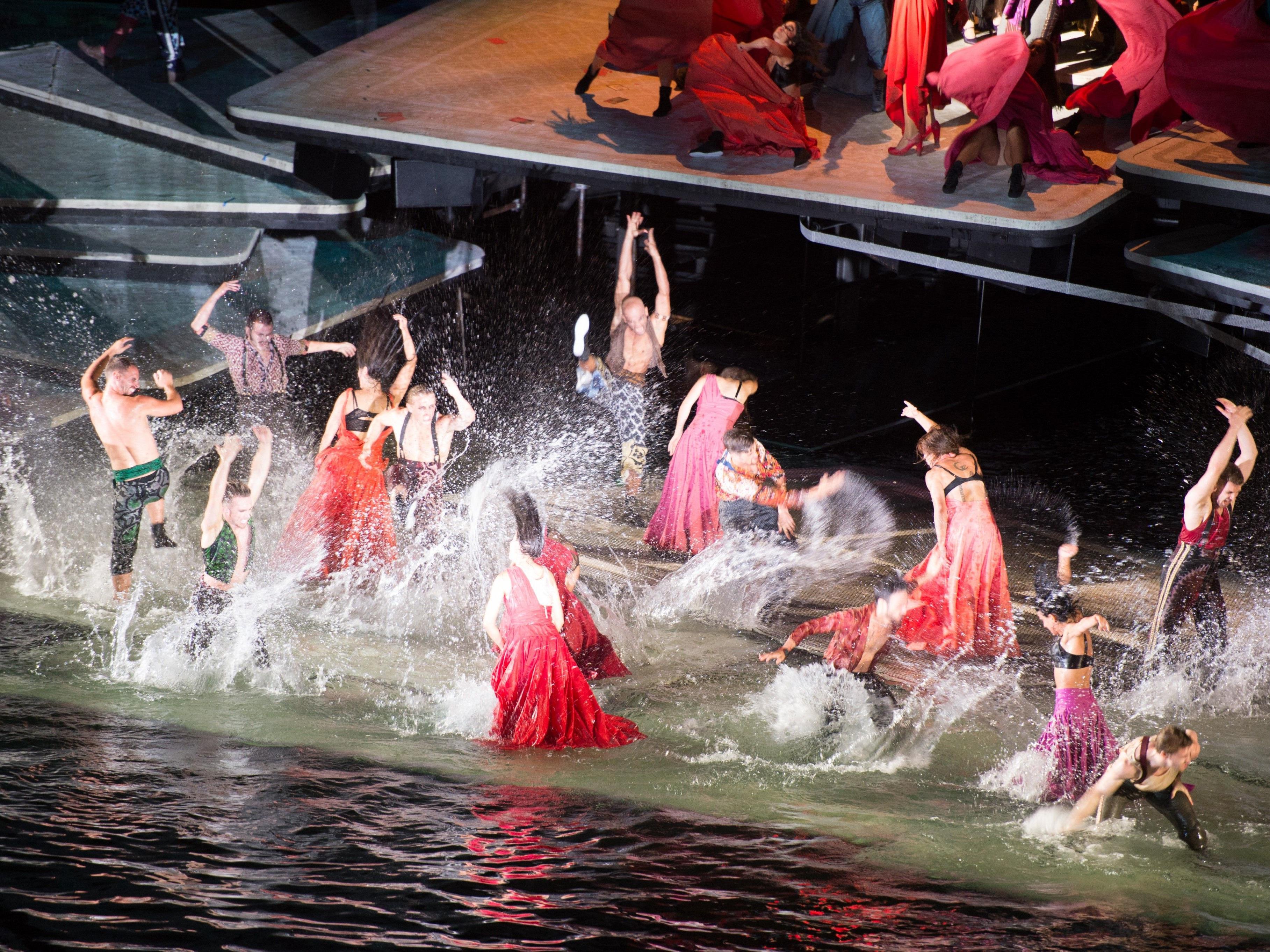"""Die zweite """"Carmen""""-Vorstellung 2017 könnte buchstäblich ins Wasser fallen."""