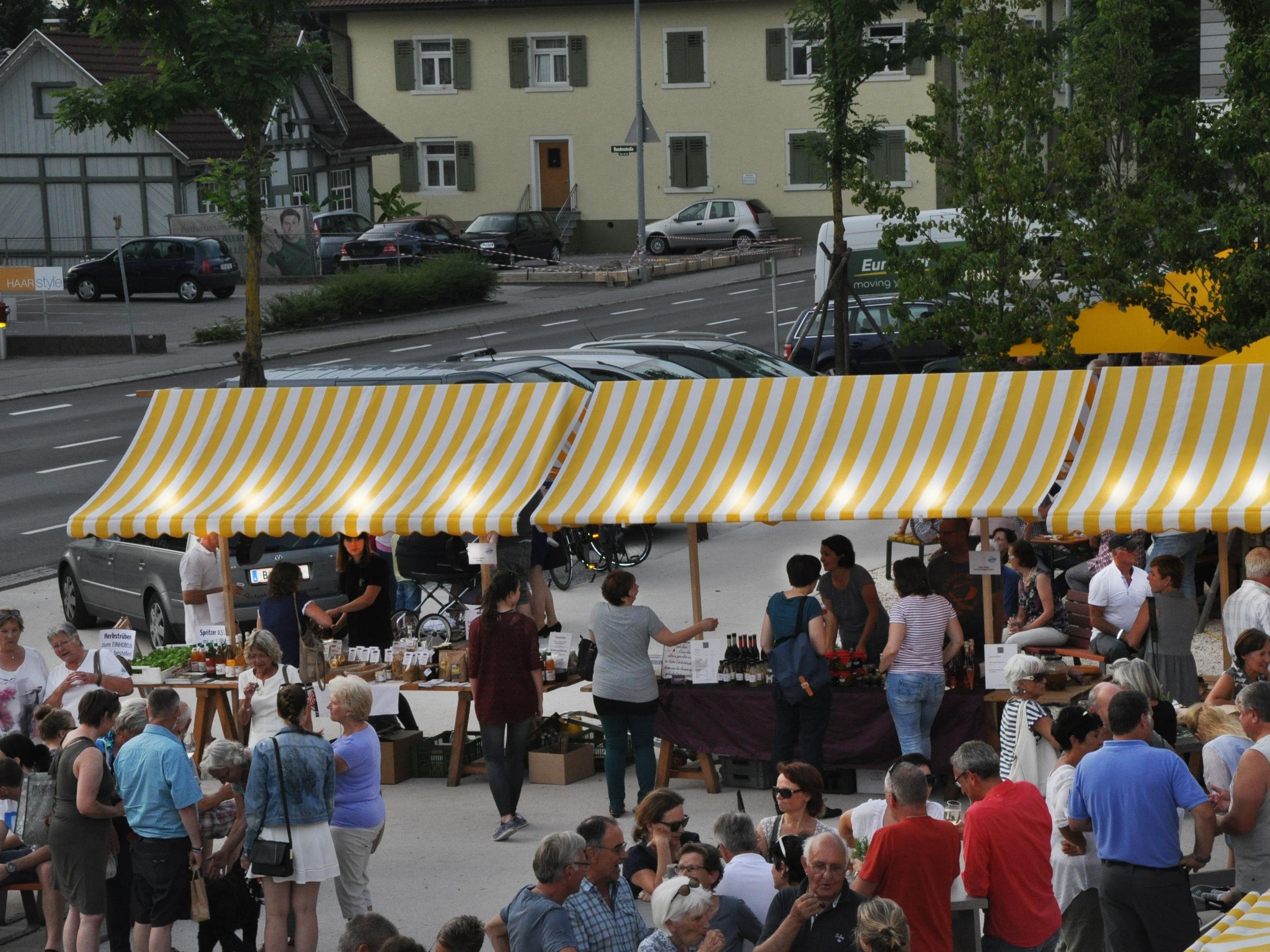 SommerAbendMarkt in Lauterach
