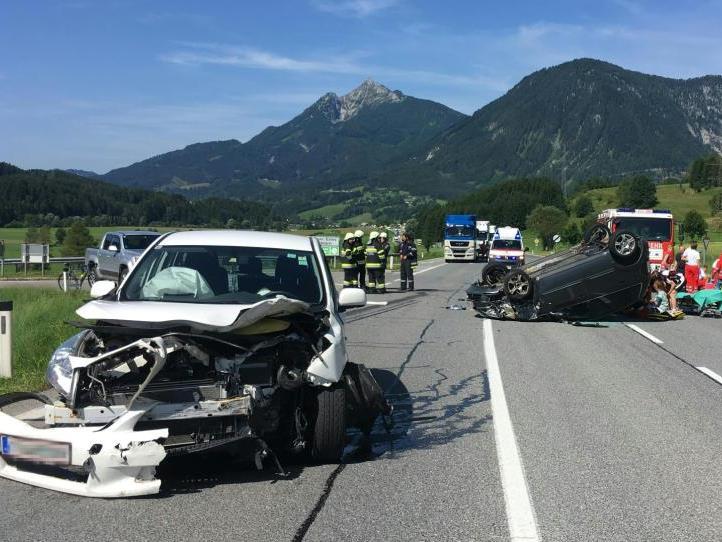 Am Montag ereignete sich in der Steiermark ein Unfall mit einem Wiener Pkw.