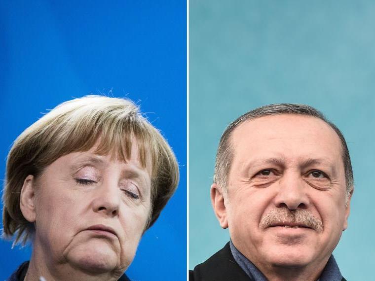 """ürkischer Präsident: """"Ich habe kein Problem mit der Kanzlerin"""""""