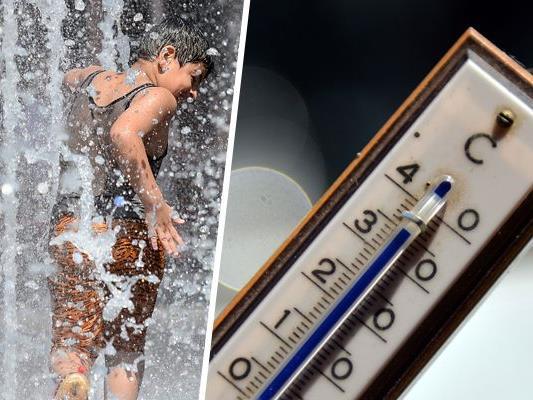 Hohe Temperaturen können die Gesundheit belasten.