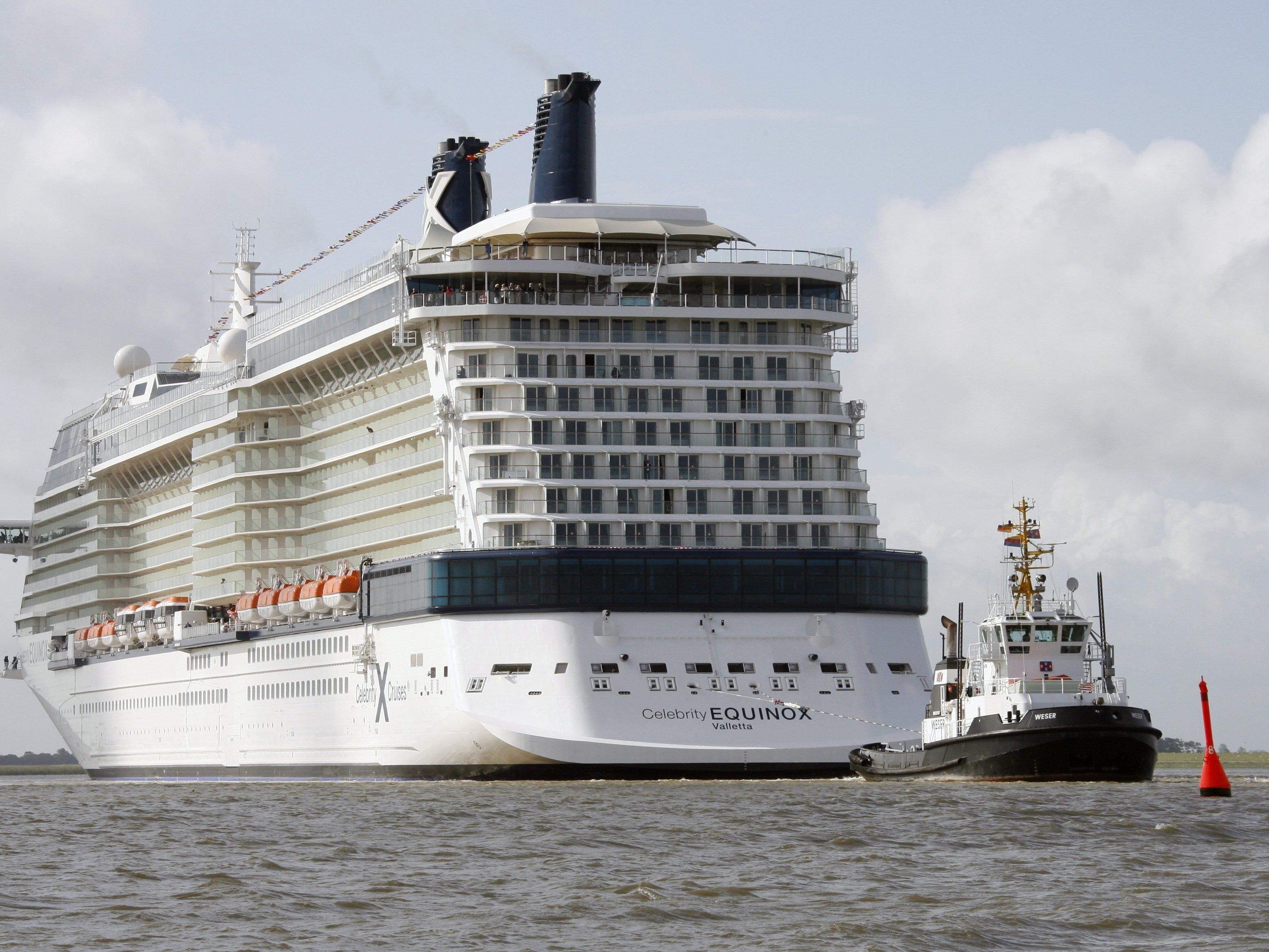 Auf einem Kreuzfahrtschiff passierte das Ehedrama.