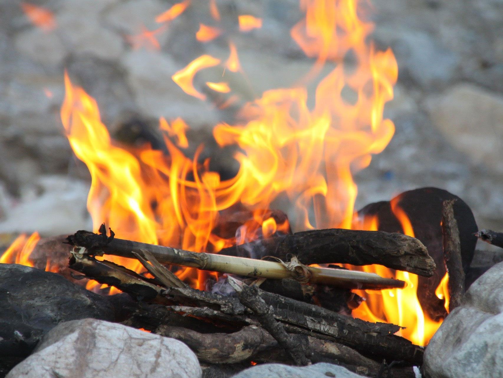 Wer ein Lagerfeuer in Wien entzünden will, muss einiges beachten