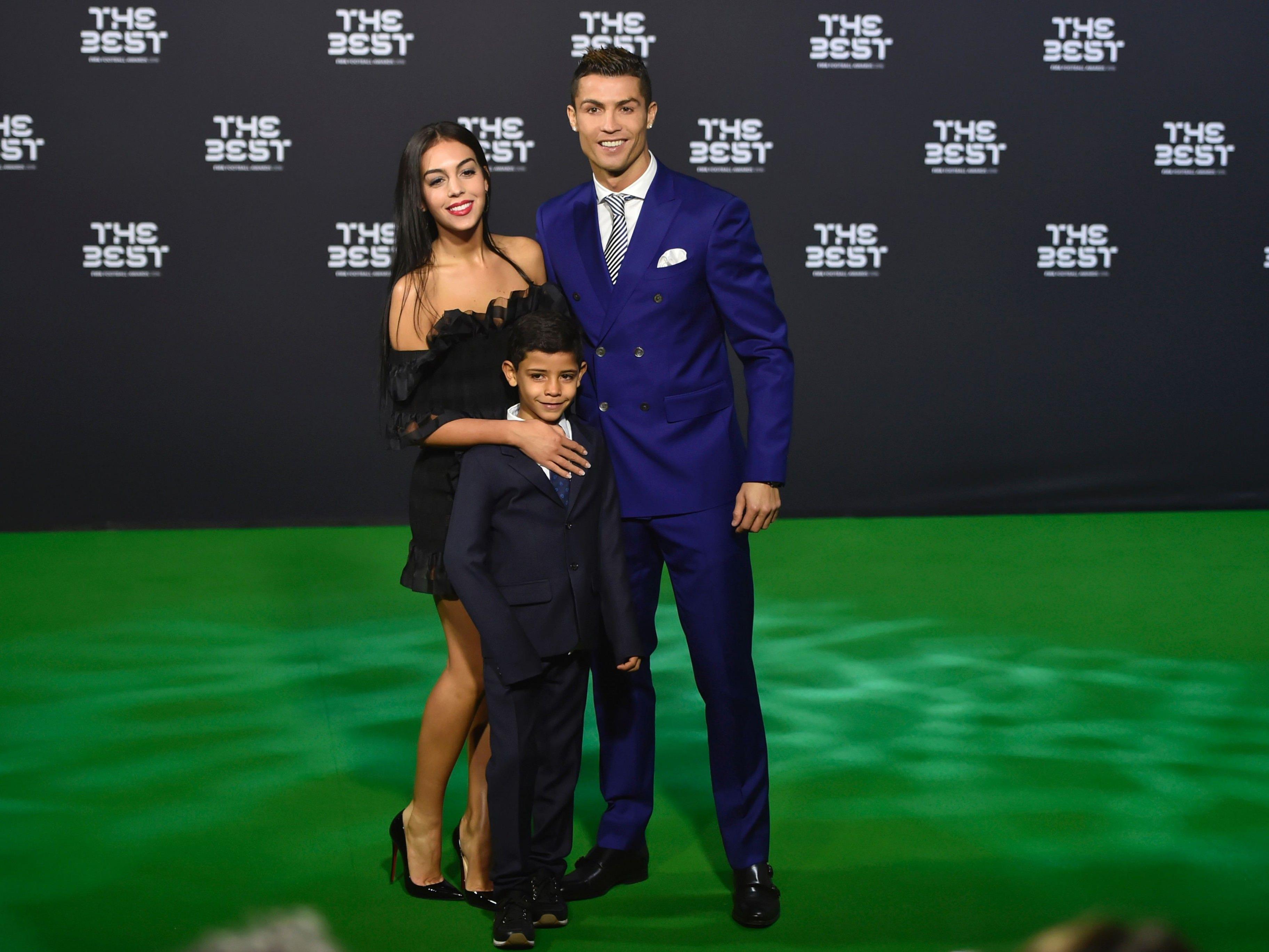 Zuwachs bei Fußball-Star Ronaldo.