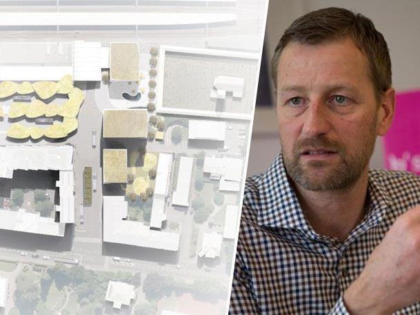 Jürgen Sutterlüty bestätigte das Engagement von Sutterlüty bei der BahnhofCity Feldkirch
