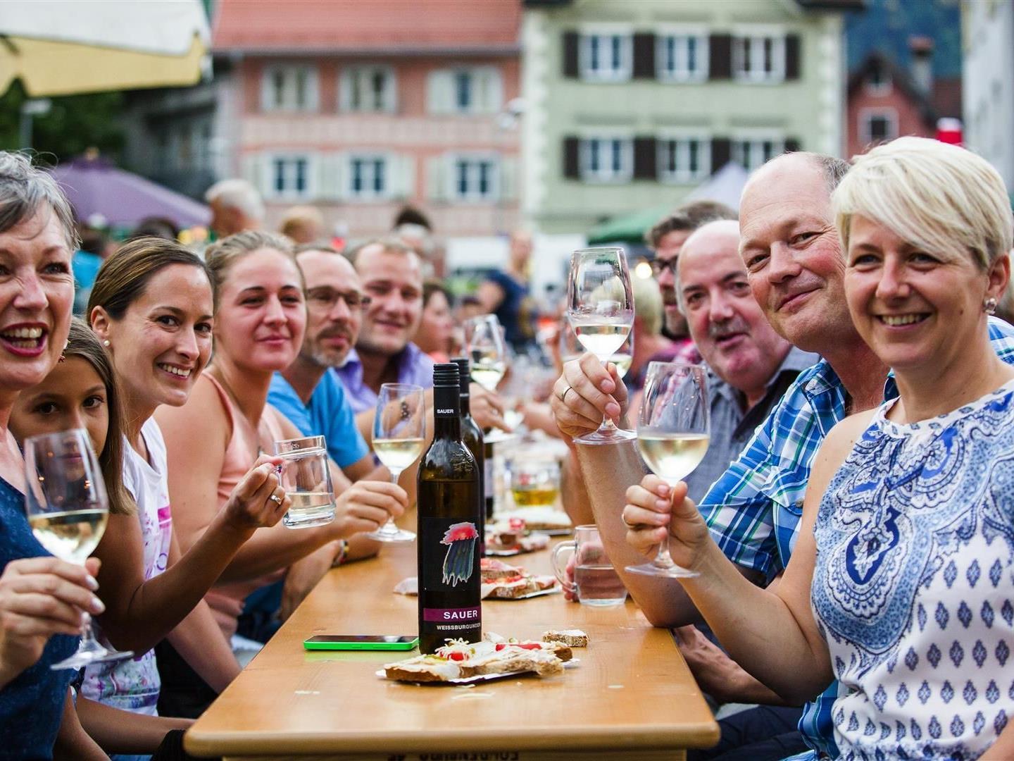 Steirisches Weinfest im Jüdischen Viertel