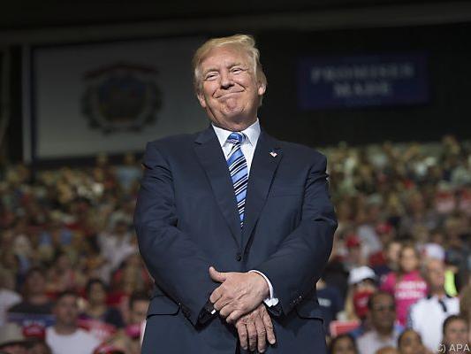US-Präsident Donald Trump kommt nicht aus der Defensive