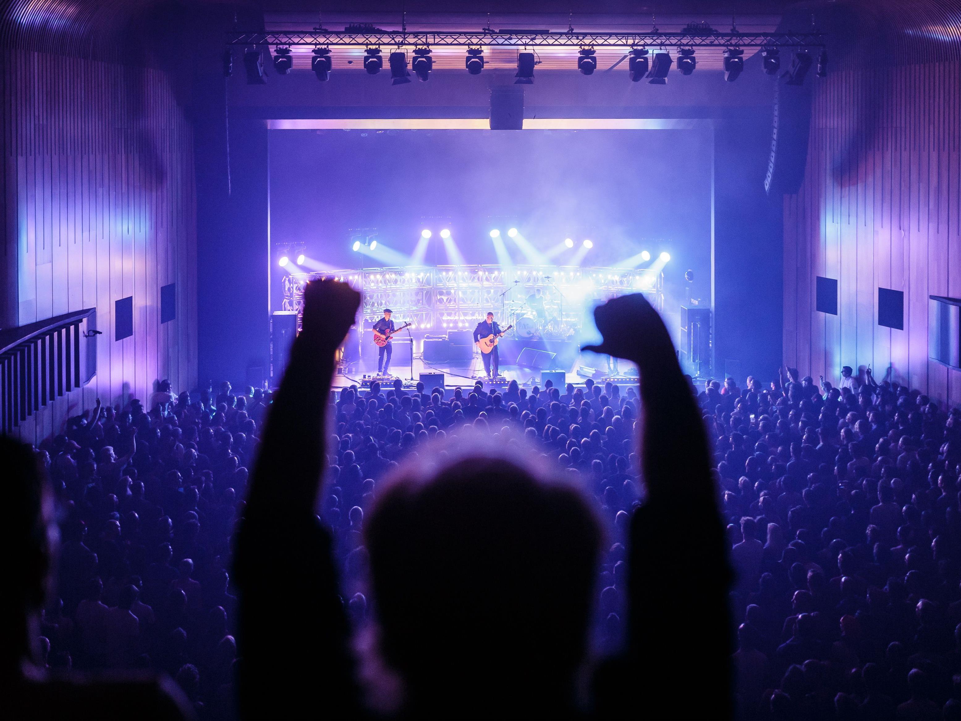 """Ein Highlight des diesjährigen poolbar-Festivals. Das Gastspiel der US-Band """"Pixies""""."""