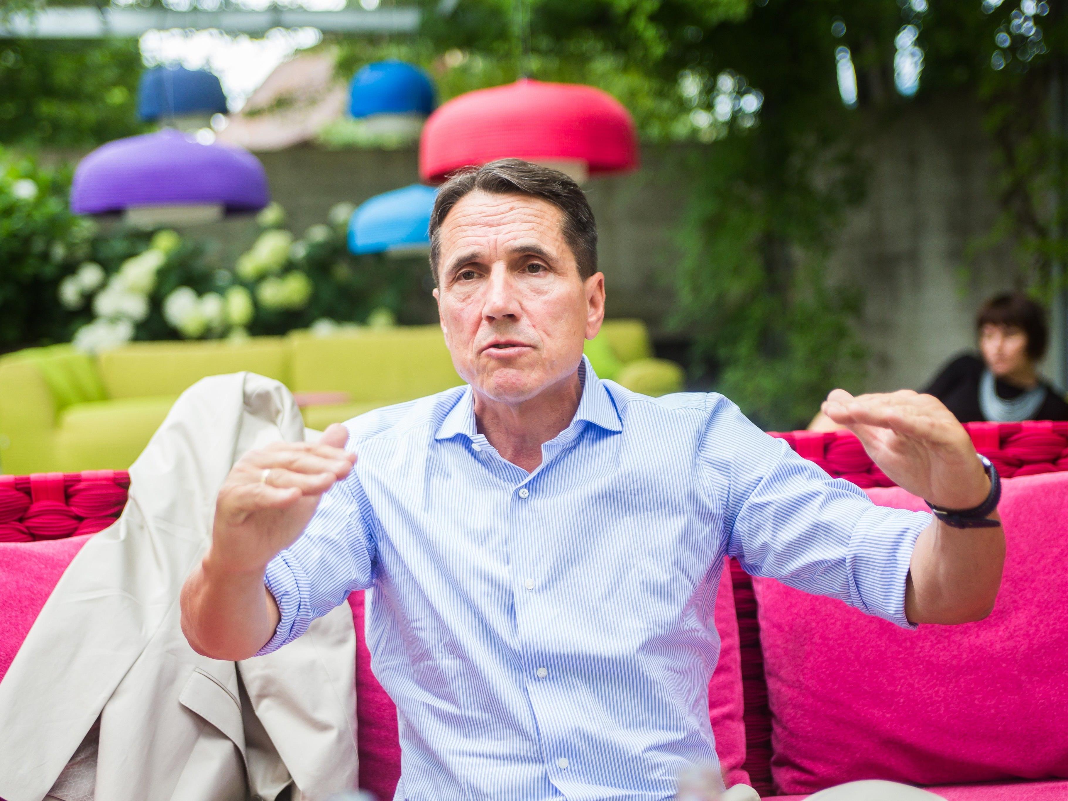 FPÖ-Chef Bösch im Sommergespräch mit den Vorarlberger Nachrichten.