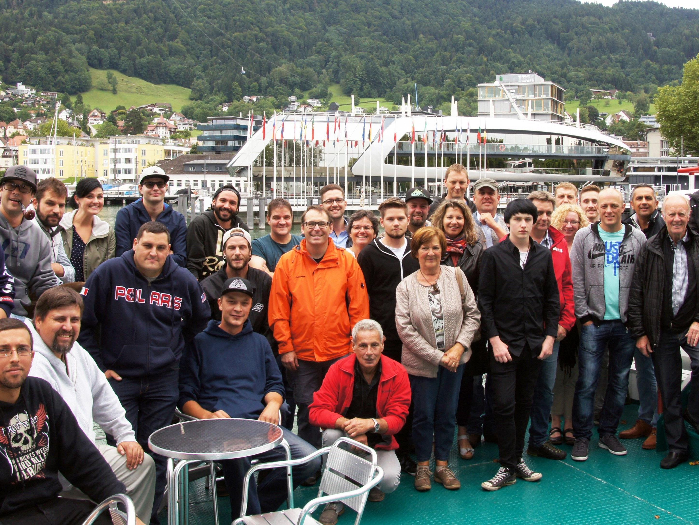 Das Firmenjubiläum wurde an Bord der MS Bregenz gefeiert.