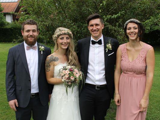 Hochzeit von Denise und Lucas.