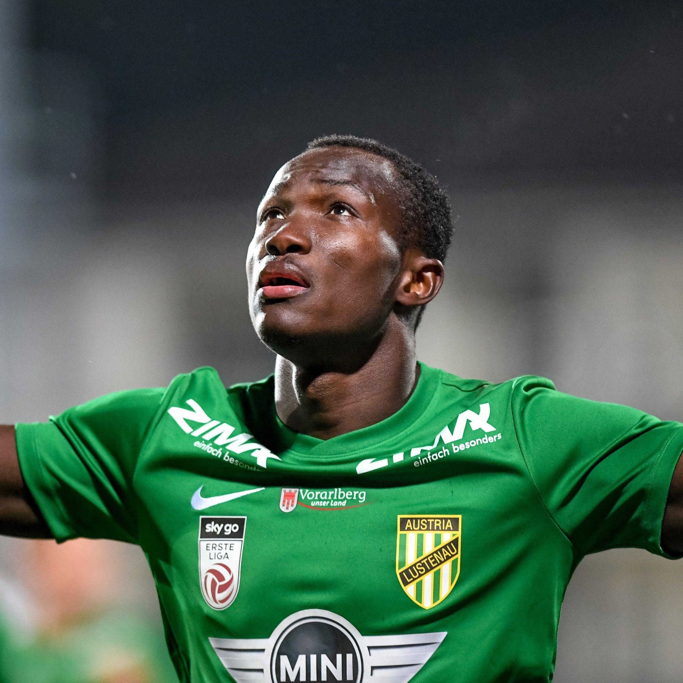 Dwamena wechselte von Austria Lustenau zum FC Zürich.