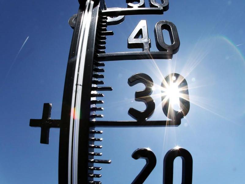 Das Thermometer kletterte in der Nacht in Wien auf 26,9 Grad.