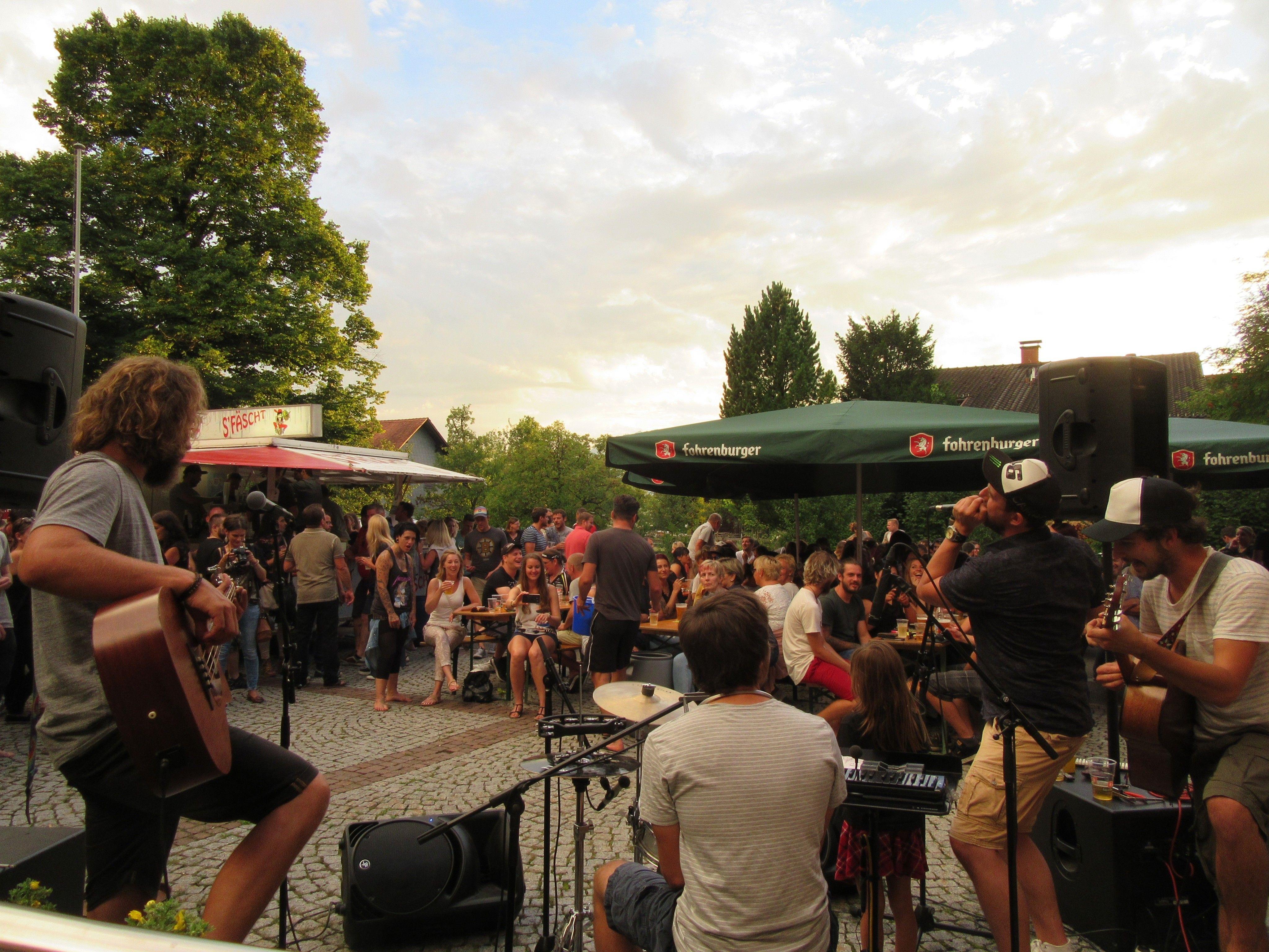 Sommernachtsfest in Röthis