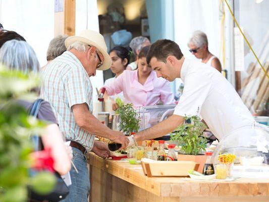 Das dritte Food-Festival kann wieder Gaumen und Seele begeistern.
