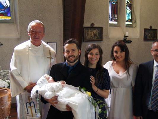 Taufe von Julian Guido Pichler.