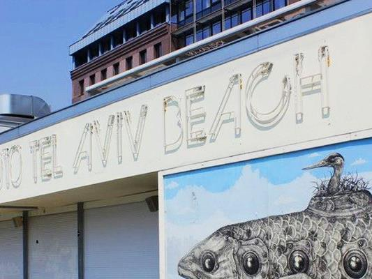 Am Samstag wird am Tel Aviv Beach kräftig gefeiert