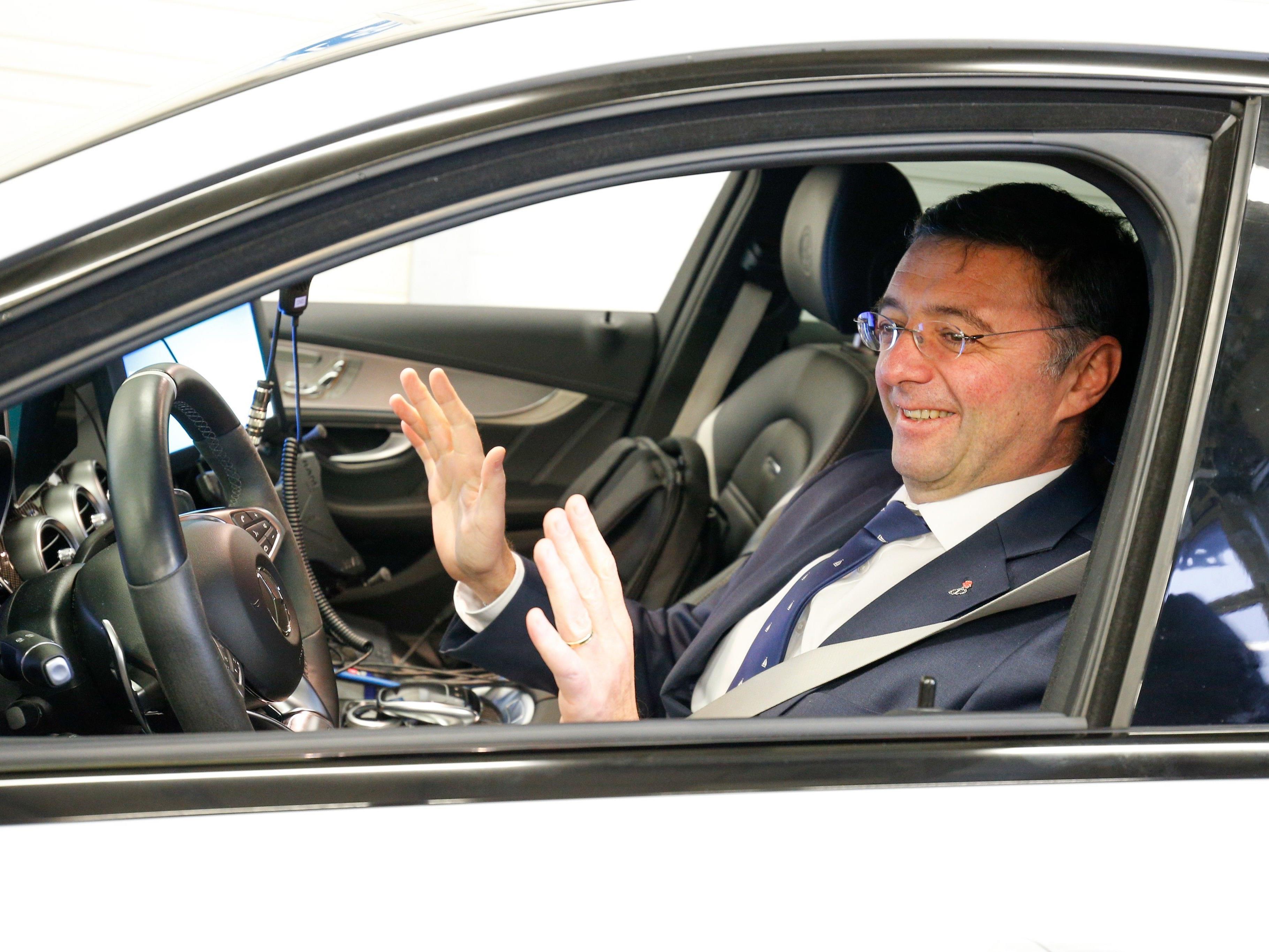 Verkehrsminister Jörg Leichtfried (SPÖ) setz auf dem Weg zur abgeasfreien Mobilität auf Anreize statt auf Verbote.