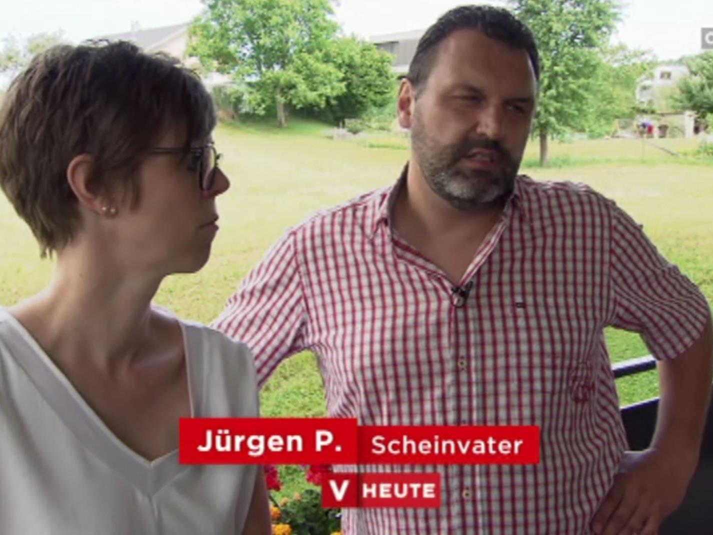 Jürgen P. ist einer der Scheinväter eines Kuckuckkinds.