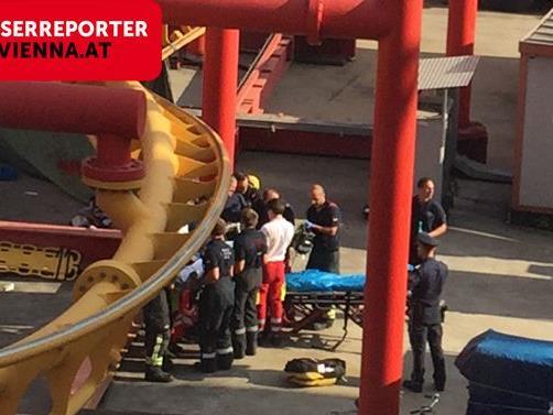Am Montag ereignete sich der Unfall im Prater in Wien.