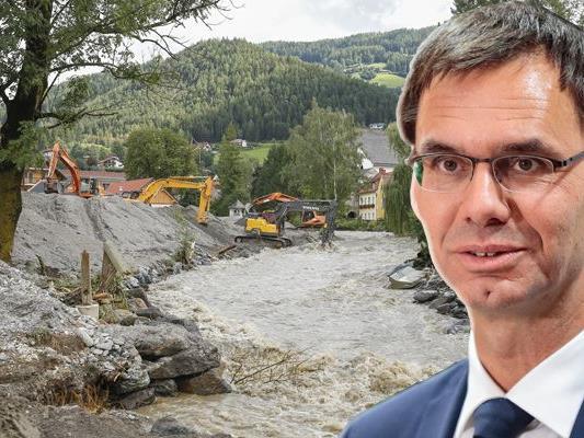 Landeshauptmann Markus Wallner setzt sich für den Erhalt des Katastrophenfonds ein.