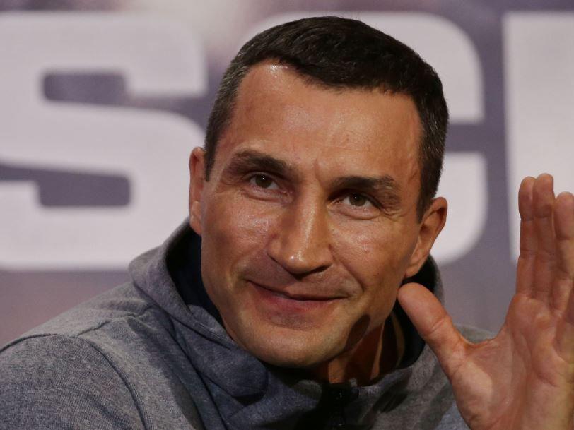 "Wladimir Klitschko sagt ""Goodbye""."