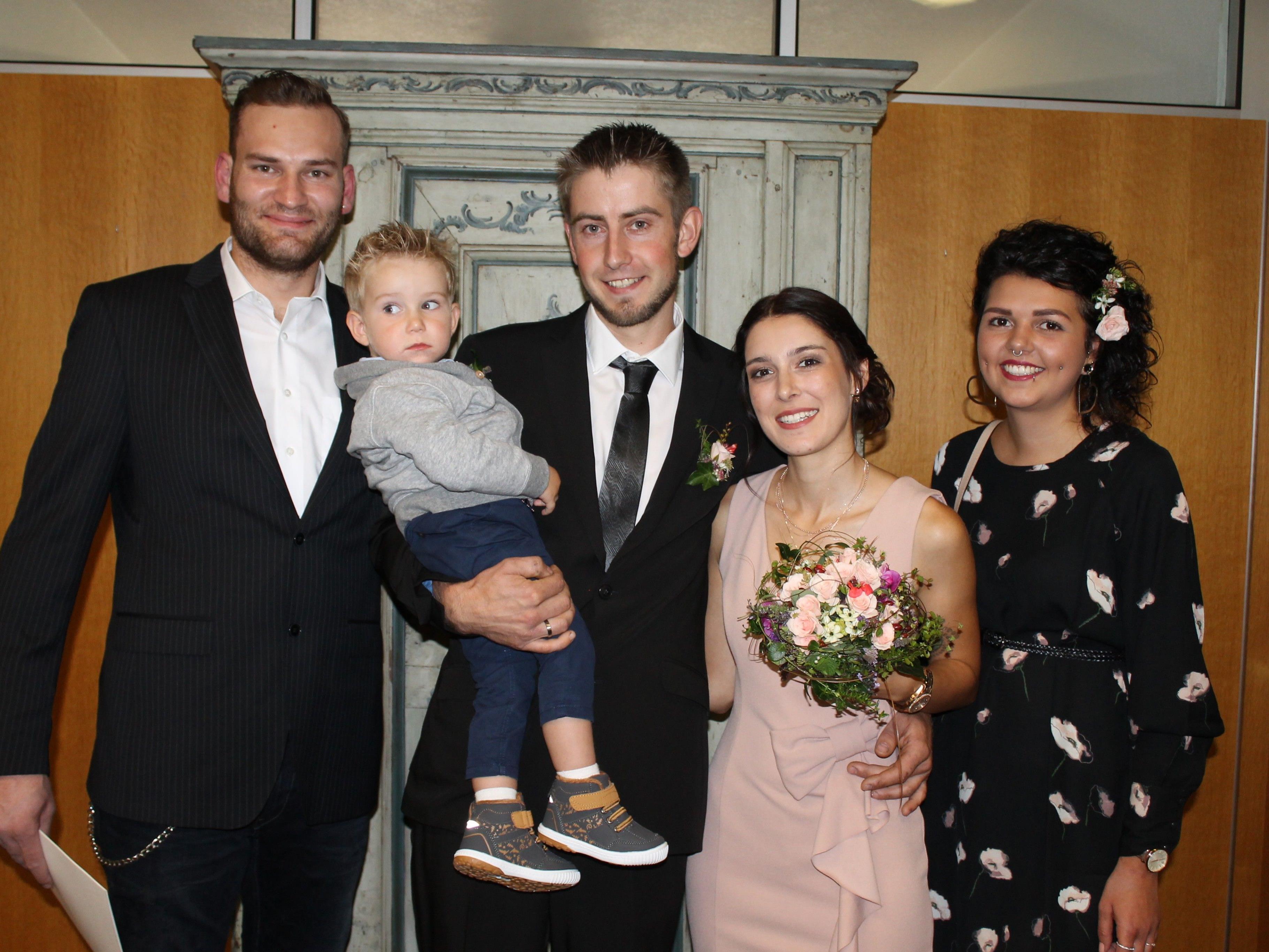 Ramona Pfefferkorn und Jürgen Mangeng haben geheiratet