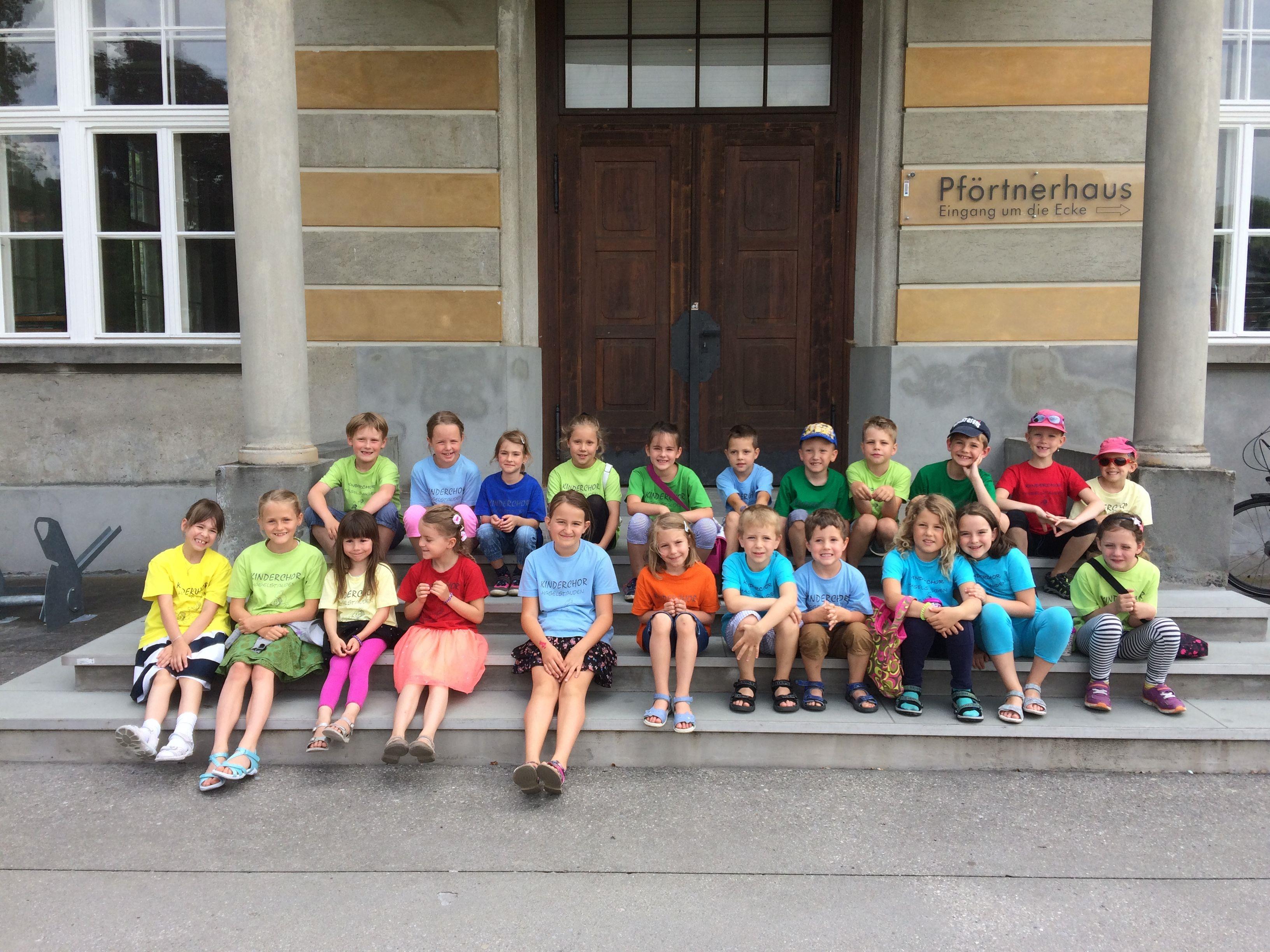 Kinderchor Haselstauden beim Wertungssingen 2017 in Feldkirch
