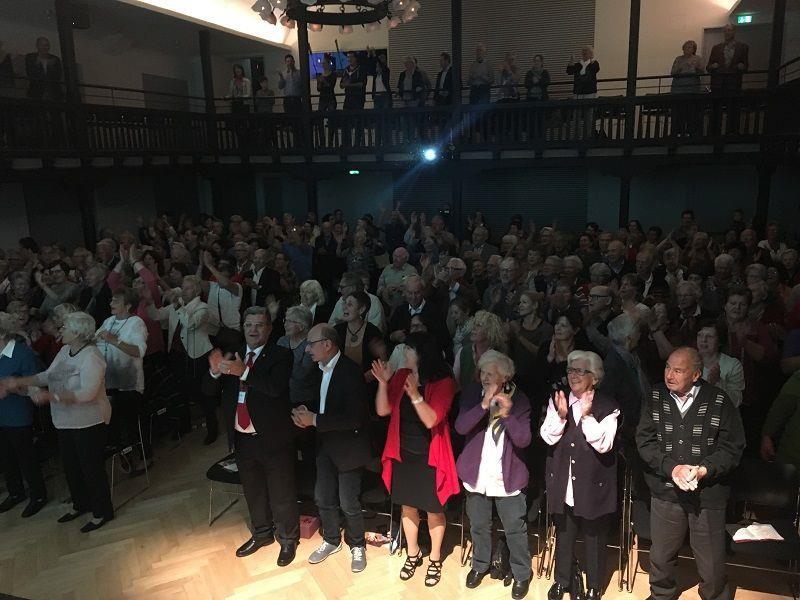 "PVÖ-Mitglieder feierten Riccardo Di Francesco CD-Präsentation ""Lebe deinen Traum"" in Hohenems"