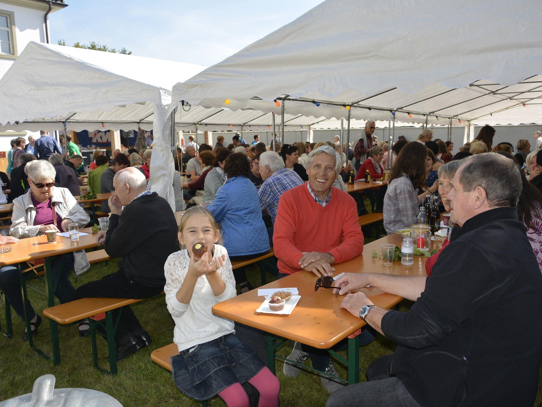 Ein strahlender Herbsttag und gute Laune herrschten am Freitag beim diesjährigen Klosterfest.