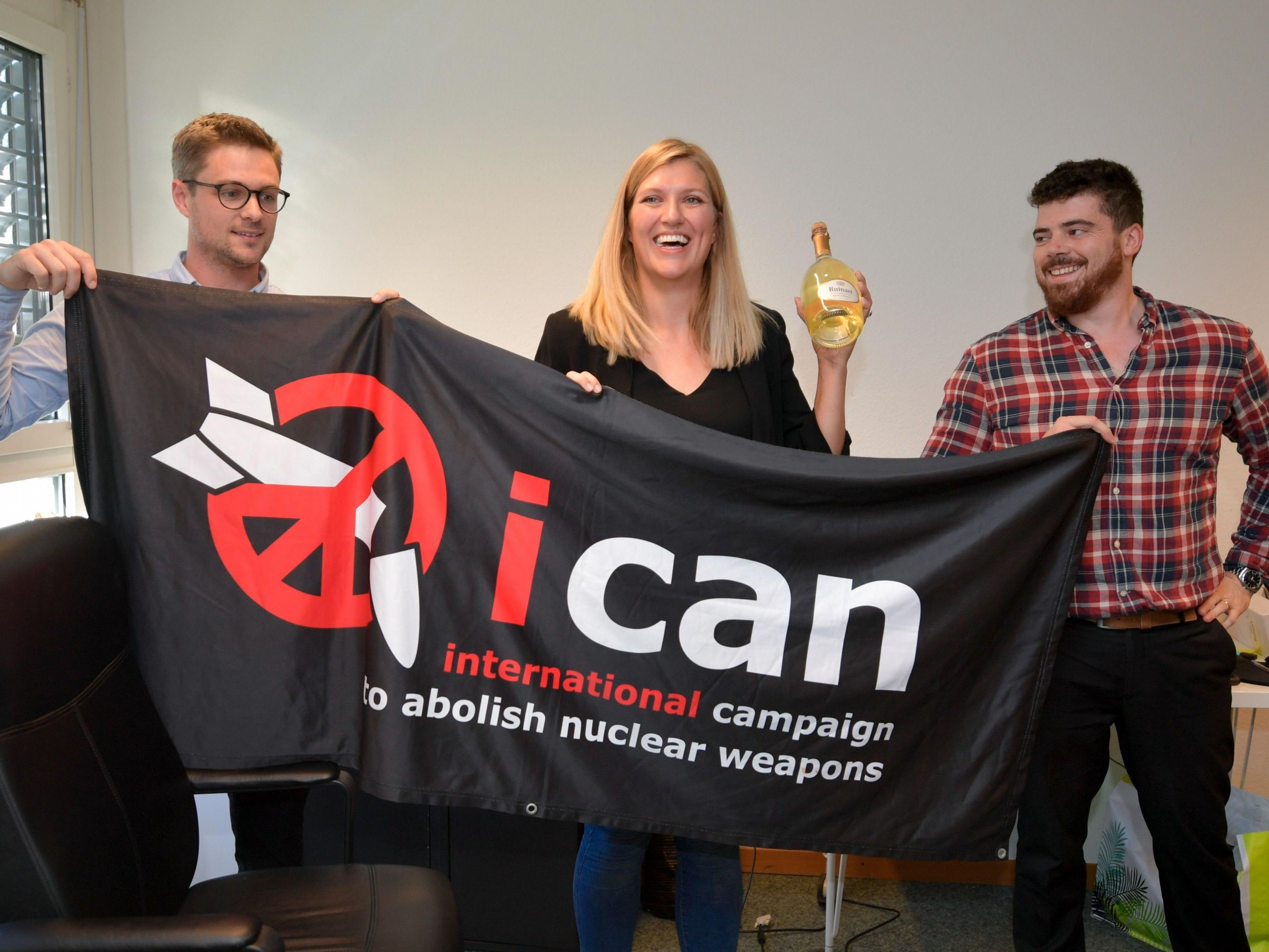 Ican wurde mit dem Friedensnobelpreis ausgezeichnet.