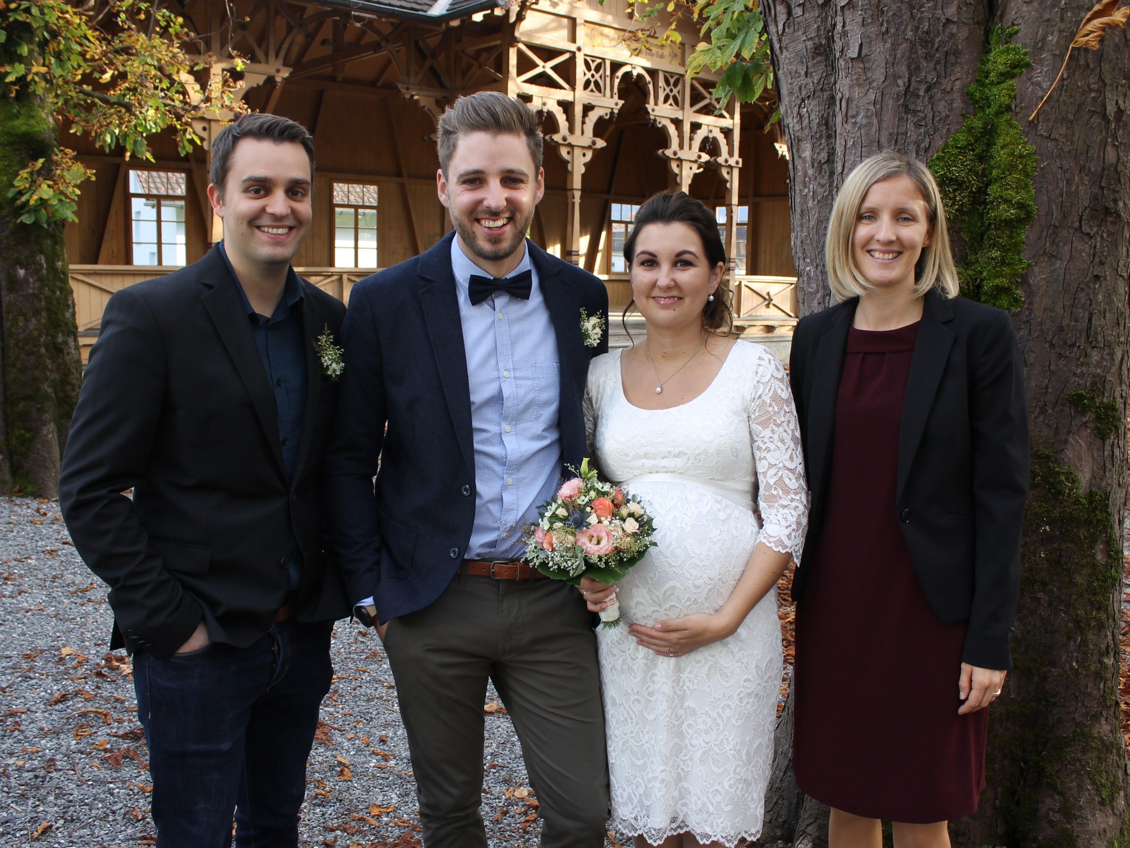Corina Zimmermann und Thomas Tschann haben geheiratet