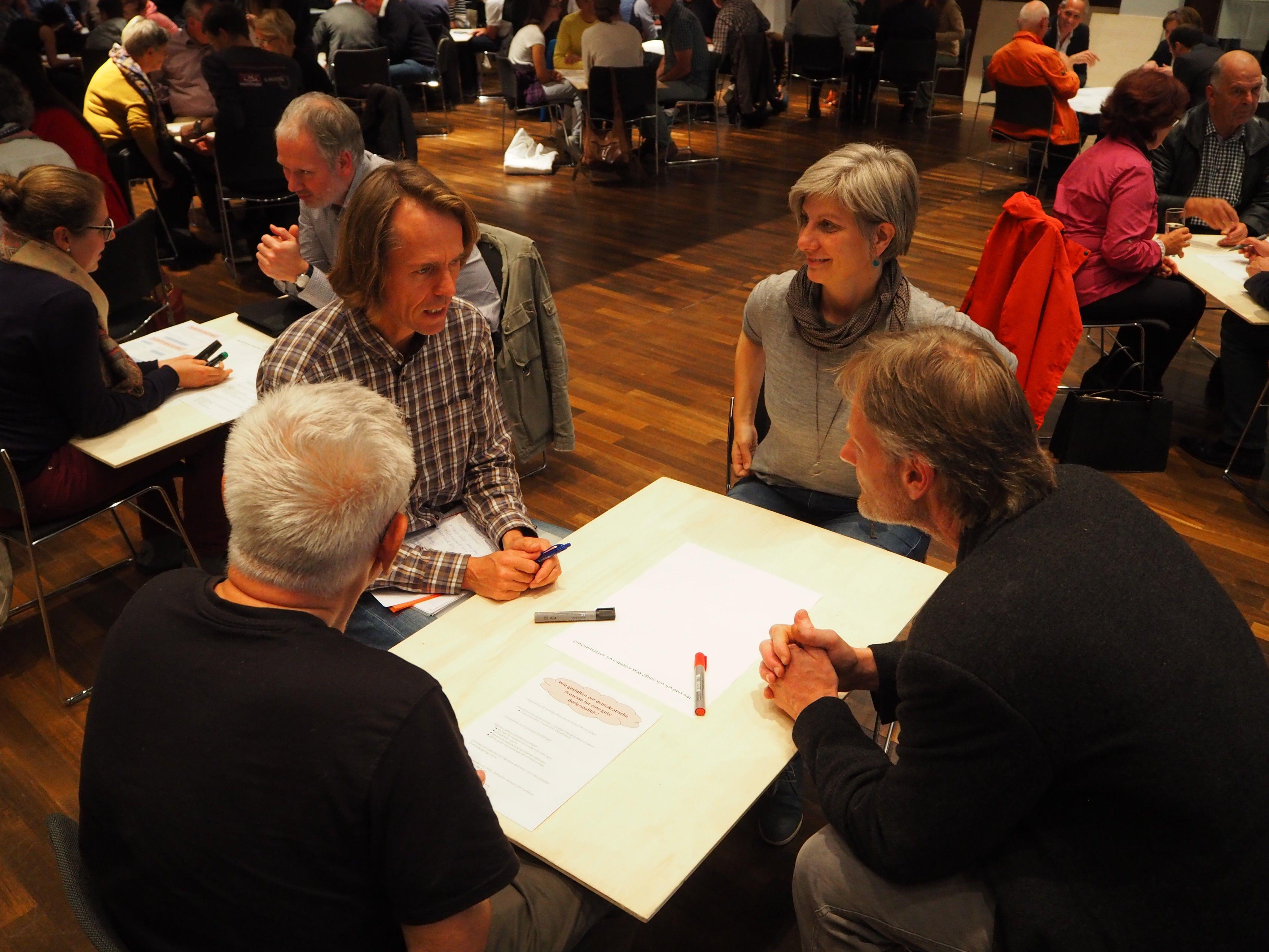 Diskussion im Rahmen des Bürgercafes in Rankweil