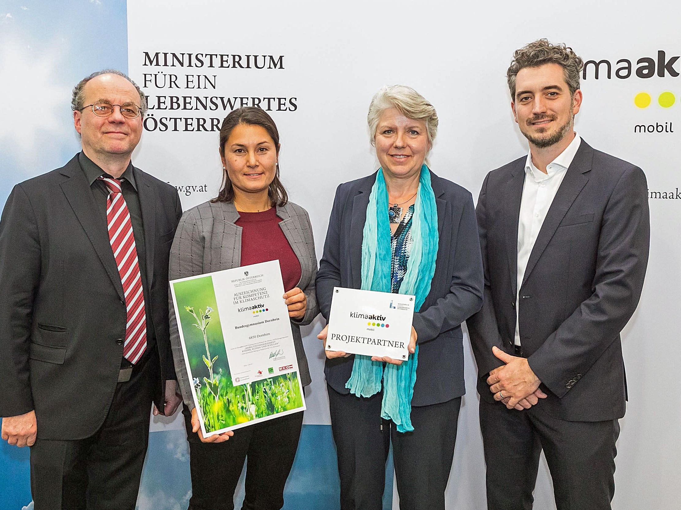 Das BGD wurde für die Umsetzung zahlreicher Aktivitäten hinsichtlich nachhaltiger, umweltfreundlicher Mobilität ausgezeichnet.