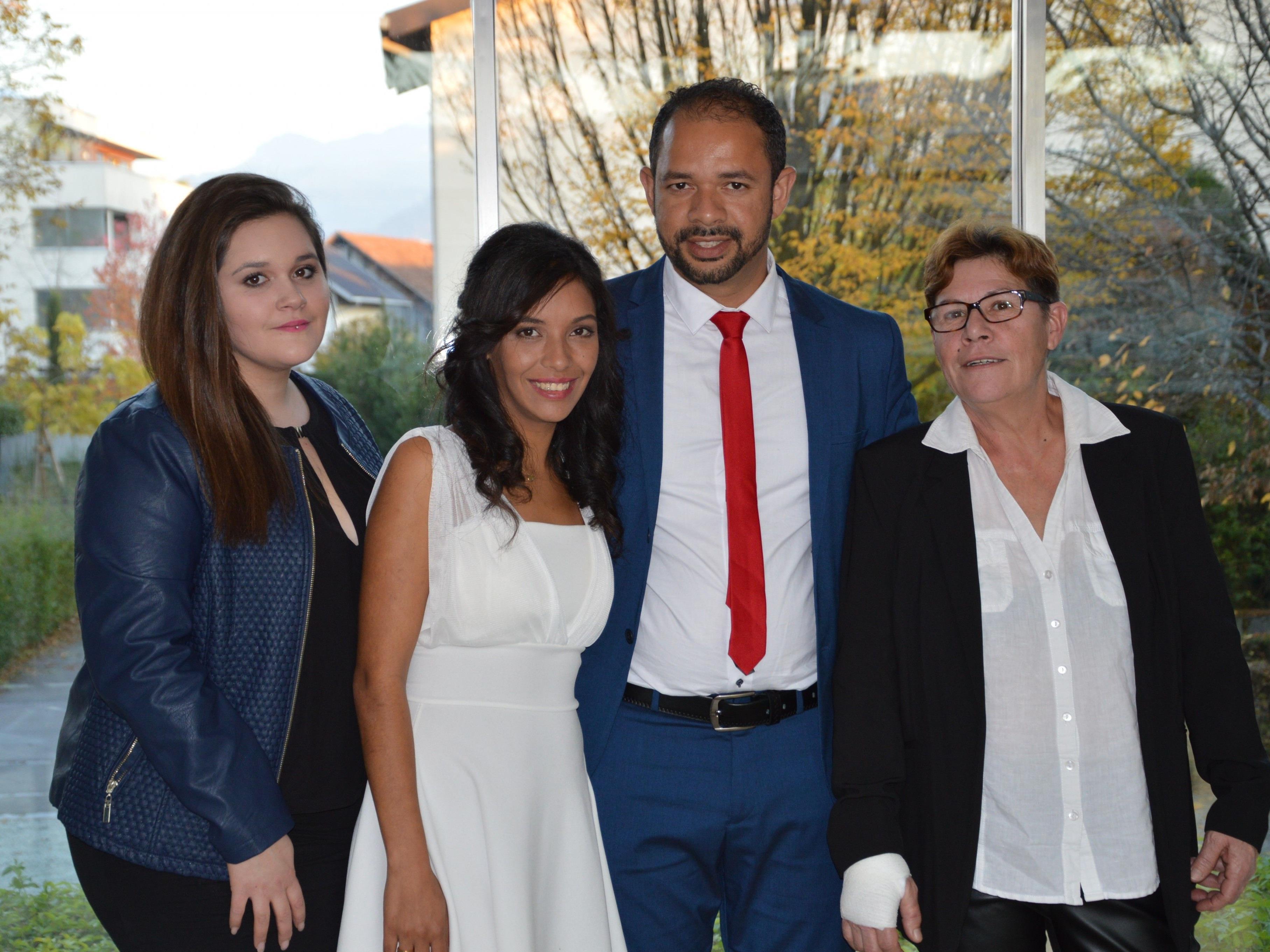 Lenir Silva da Rosa und Josue Francisco do Nascimento haben geheiratet